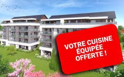 Les Terrasses Félix, appartements neufs à La Roche-Sur-Foron - Anthéus Promotion