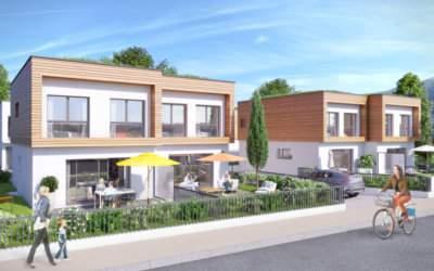 Le Clos des Roses, maisons-duplex neuves à Gaillard - Anthéus Promotion