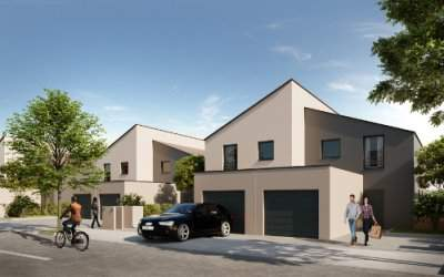 Maison T4 Héricourt - Le Parc des Cerisiers - Anthéus Promotion