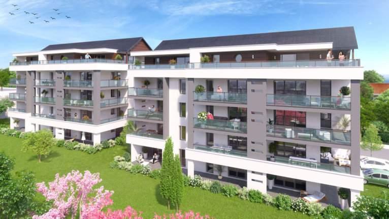 Appartements neufs aux Térrasses Félix - La Roche-Sur-Foron - ANTHEUS PROMOTION