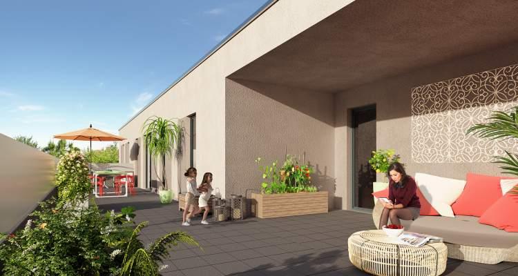 Appartement neuf T3 Héricourt terrasse