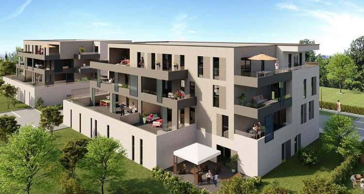 Appartement neuf T3 Héricourt bâtiment