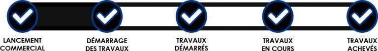 Etat de l'avancée des travaux aux Terrasses du Champelet