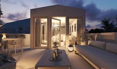 Perspective Rixheim sur le toit