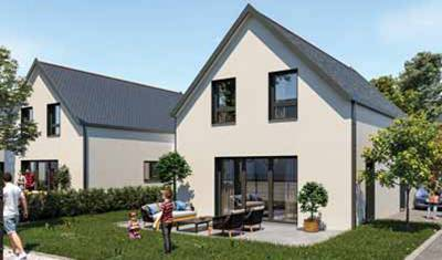 Maison neuve à Kingersheim