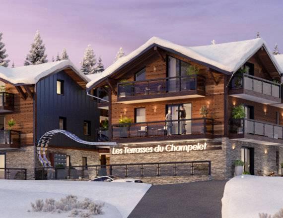 Programme immobilier neuf Haute Savoie Les Terrasses du Champelet