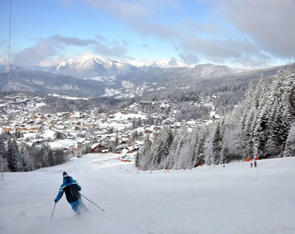 Antheus Promotion - Terrasses du Champelet - Vue piste de ski